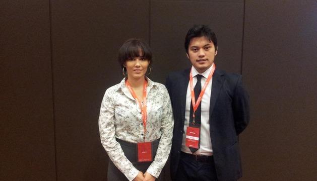 Natalia Salas y Alan Dacanay