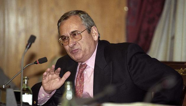 Fotografía de archivo de Ángel Sanchís, tesorero de Alianza Popular entre 1982 y 1987