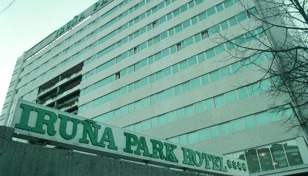 Fachada del hotel Iruña Park