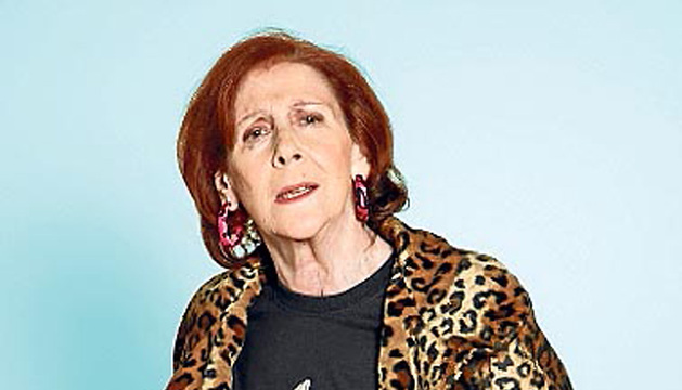 Imagen de agosto de 2012 de la actriz Mariví Bilbao.