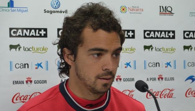 Miguel De las Cuevas, durante la rueda de prensa