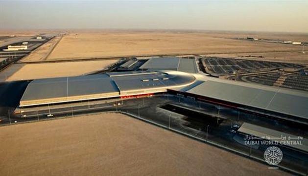 El segundo aeropuerto de Dubai