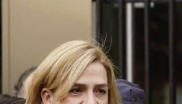 Fotografía de archivo de la infanta Cristina, tomada el 25 del Noviembre de 2012.