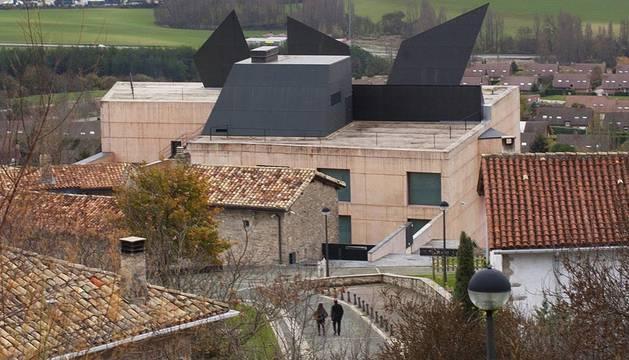 Museo Oteiza en la localidad de Alzuza
