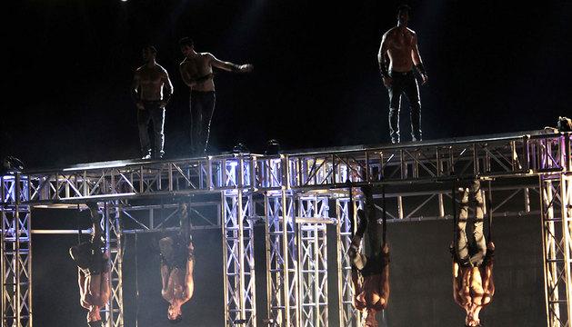 El grupo español Los Vivancos presentaron su nuevo espectáculo