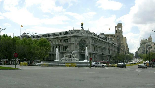 Imagen de archivo de la sede central del Banco de España en Madrid