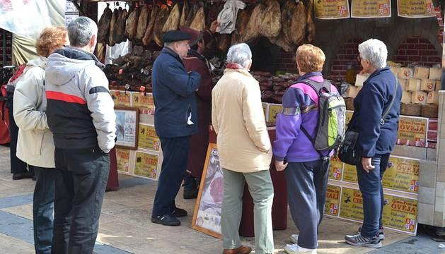 Huarte acogió este fin de semana su primer mercado medieval