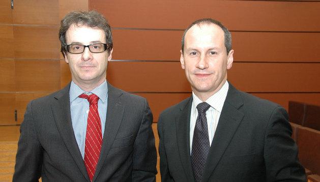 Jorge Secades y Guillermo Barrios