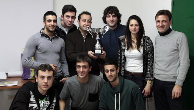 Alumnos participantes en el intercambio España-Italia