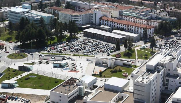 Imagen del Complejo Hospitalario de Navarra