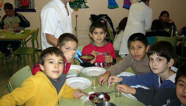 Comedor escolar del Colegio Público Ermitagaña