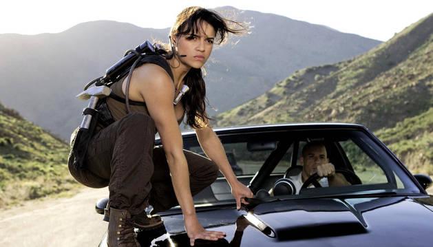 Una imagen de una de las películas de la saga Fast and Furious.