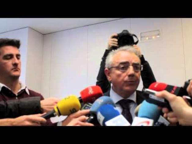 Miguel Sanz, tras declarar ante la juez