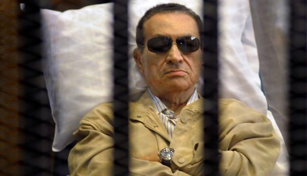 El expresidente de Egipto Hosni Mubarak