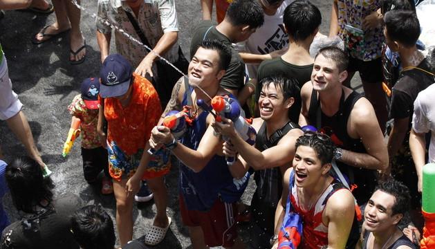 Tailandia celebra el año nuevo