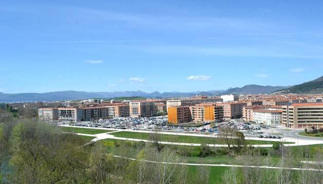 Pamplona disfruta este fin de semana del tiempo primaveral