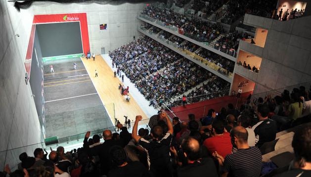 El frontón Bizkaia de Bilbao acogerá la final del Campeonato de Parejas