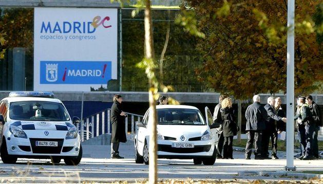 Imagen exterior del recinto Madrid Arena
