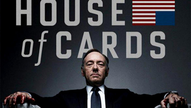 House of Cards está protagonizada por Kevin Spacey y Robin Wright