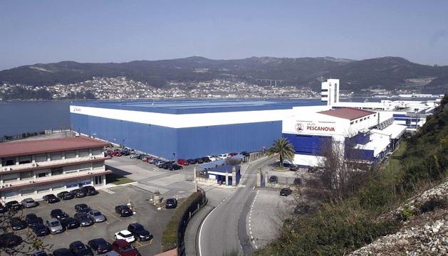 Sede central de Pescanova en Redondela (Pontevedra)