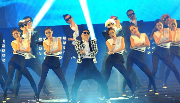 Psy en su último concierto