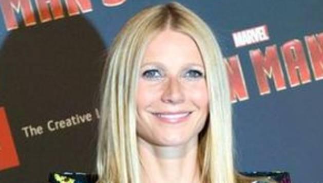 Gwyneth Paltrow en la presentación de 'Iron Man'