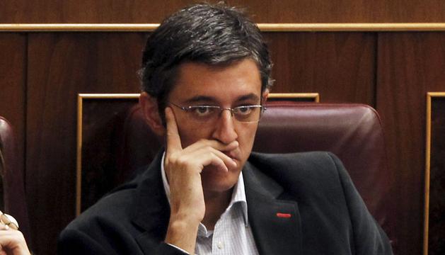 Eduardo Madina en el Congreso de los Diputados