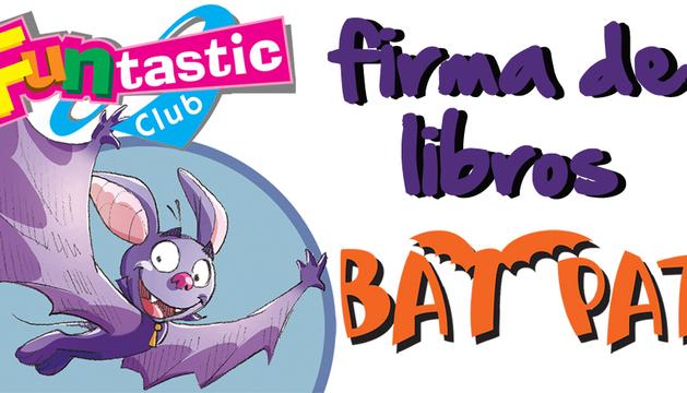 Firma de libros de Bat Pat en La Morea. 23 de abril