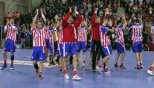El Atlético de Madrid se ha proclamado campeón de la Copa del Rey de balonmano.
