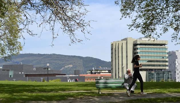 El buen tiempo llega a Pamplona este fin de semana