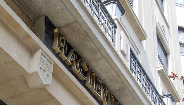 Edificio de la Hacienda Foral de Navarra