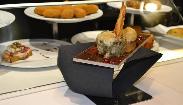 El bar restaurante Ábaco se llevó el oro de la XV Semana del Pincho de Navarra. El Mô se hizo con el segundo puesto, mientras que el tercero cayó en el Casa Azcona.