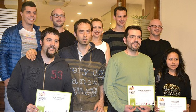 Entrega de premios de la XV Semana del Pincho de Navarra