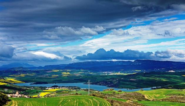 Bella imagen de un paisaje de la Comunidad foral.