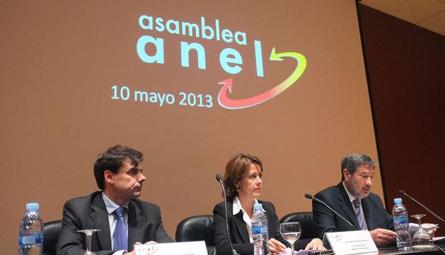 Ignacio Ugalde, Yolanda Barcina y Luis María Gallo