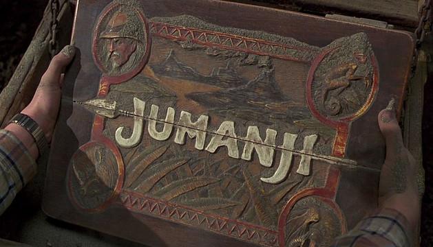 Imagen de la película Jumanji