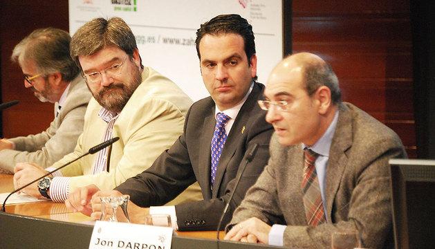 Congreso sobre geriatría y gerontología celebrado en Vitoria al que ha acudido Íñigo Alli.