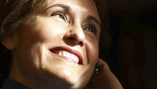 Fotografía facilitada por el Teatro Real de la soprano navarra Maria Bayo