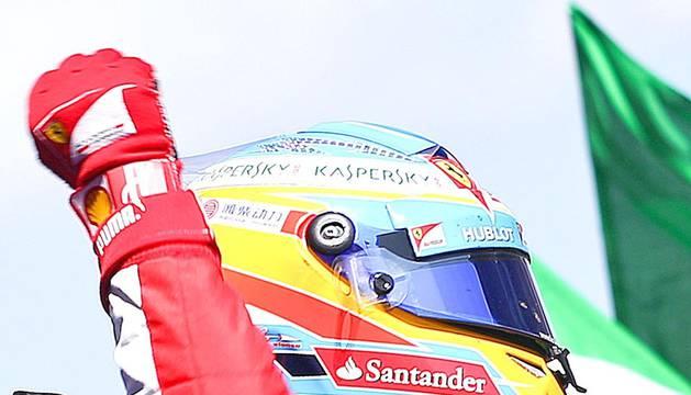Imágenes de la quinta carrera del Mundial de Fórmula 1 2013, disputada en el circuito de Montmeló con victoria final de Fernando Alonso (Ferrari).