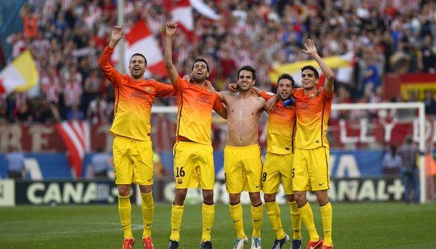 Atlético-Barcelona.