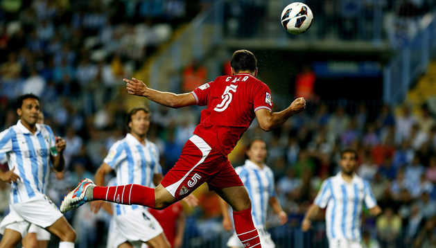 El defensa del Sevilla Juan Torres