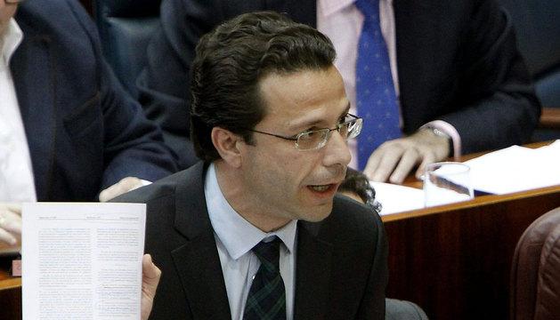 El consejero de Sanidad de Madrid, Javier Fernández-Lasquetty.