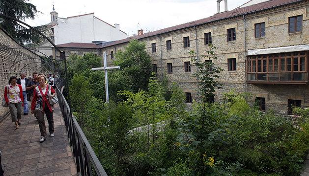 Visita al convento de las Salesas.