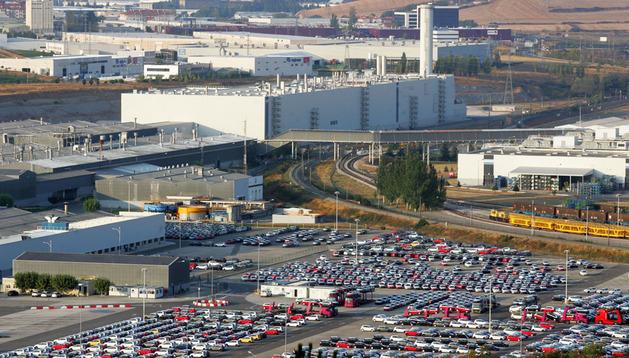 Instalaciones de Volkswagen Navarra en Landaben