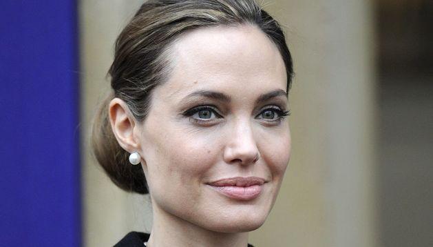La actriz Angelina Jolie.