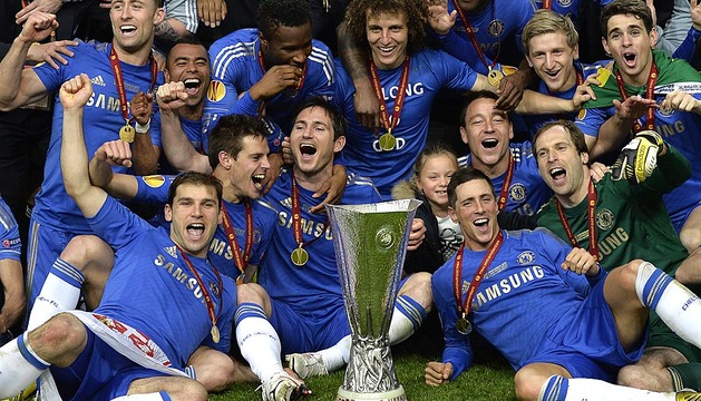 Final de la Europa League 2012/2013 entre Chelsea y Benfica