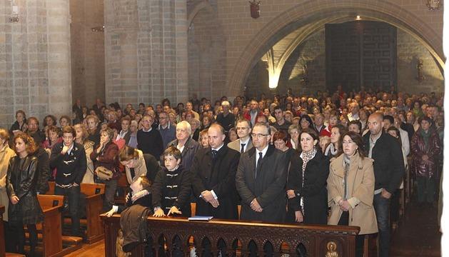 Funeral a Alfredo Landa en Pamplona
