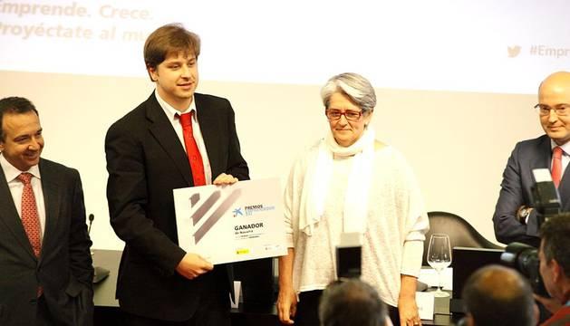 Gala de entrega de los Premios Emprendedor XXI en Navarra