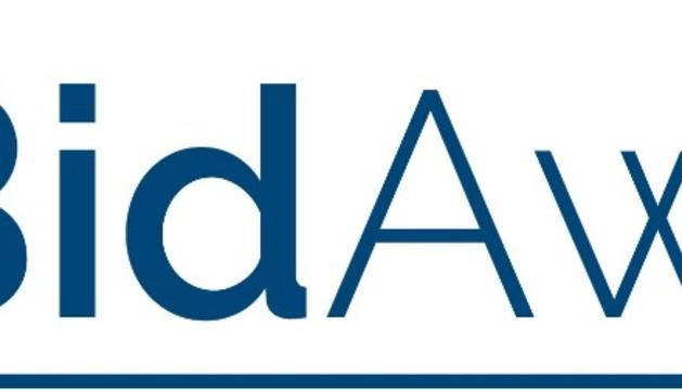 Logo de la empresa BidAway.