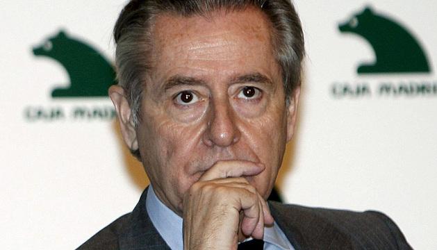 Blesa, expresidente de Caja Madrid.